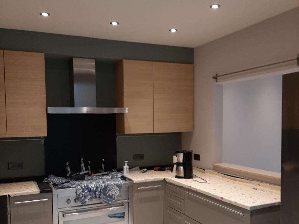 - Painting of the kitchen